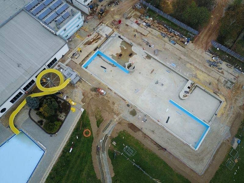 Zábřeh - rekonstrukce bazénu probíhá dle plánu zdroj foto: muza