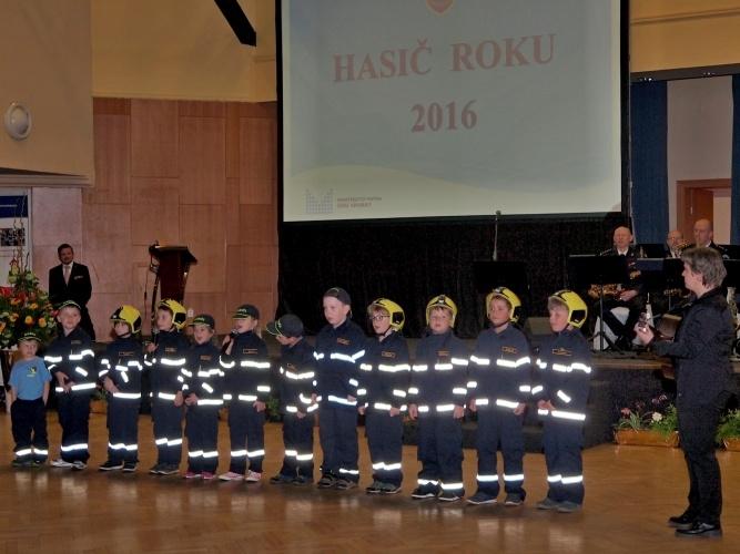 Praha - vyhlášení ankety Hasič roku zdroj foto: GŘ HZS Olk