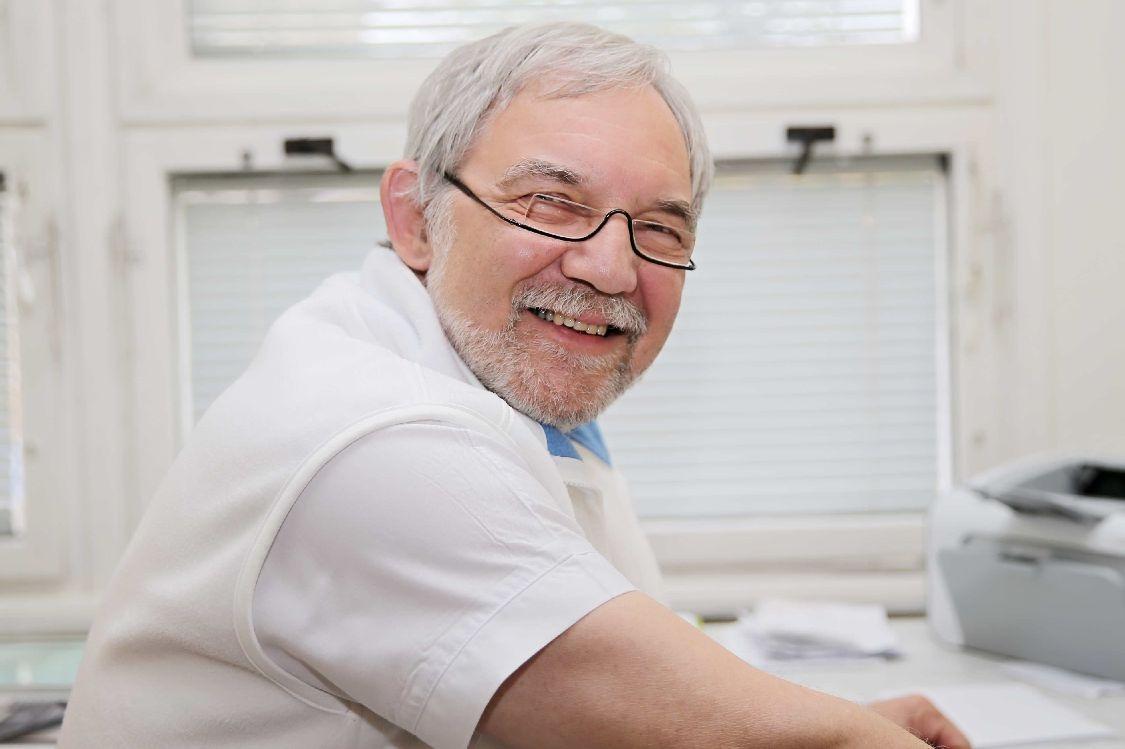 MUDr. Ivan Schlemmer - primář očního oddělení foto: M. Jeřábek - šumpersko.net