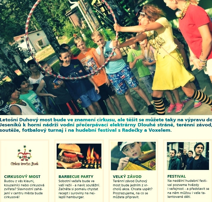 pozvánka na festival v Šumperku zdroj: časopis Zámeček