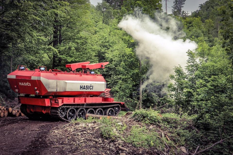Forest Fire 2017 zdroj foto: HZS Olk