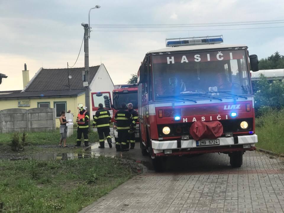 zásahy hasičů v Olomouckém kraji zdroj foto: HZS Olk