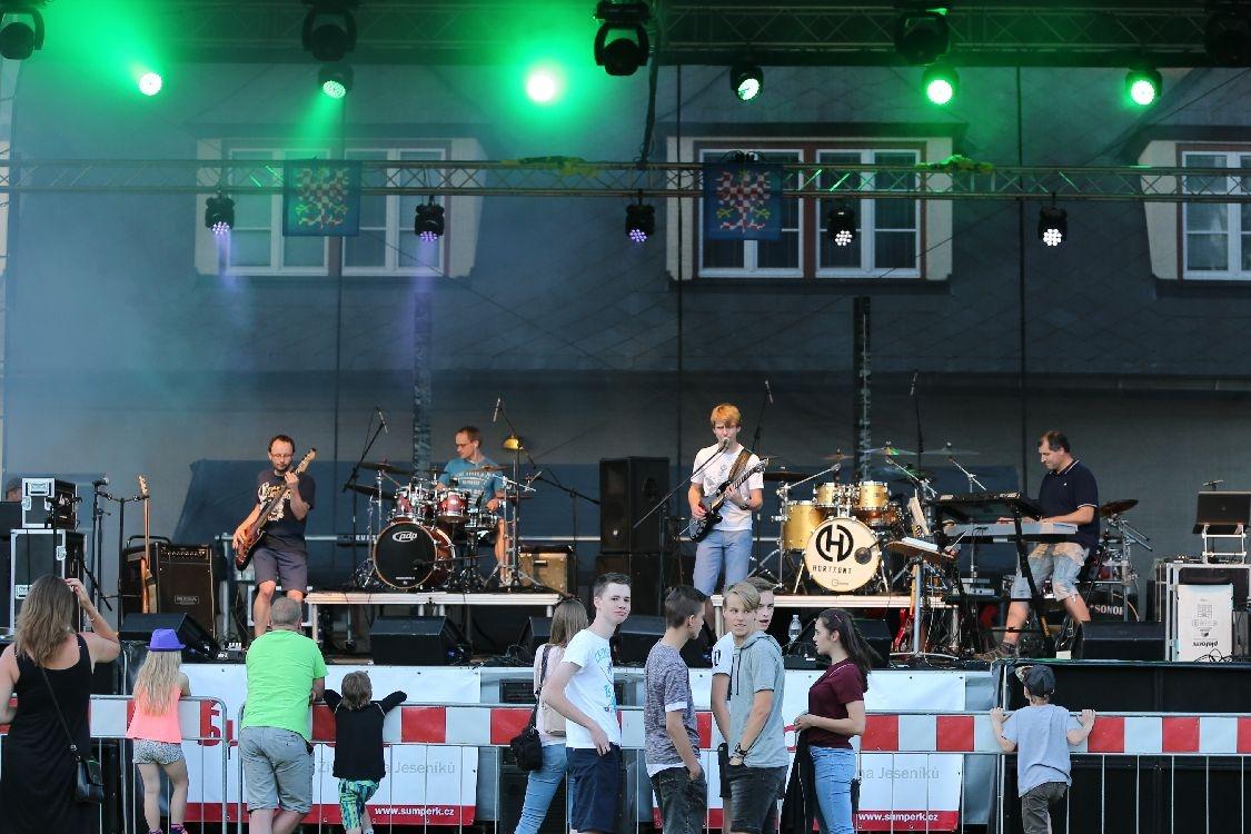 Slavnosti města Šumperka - hudební večer foto: šumpersko.net - M. Jeřábek