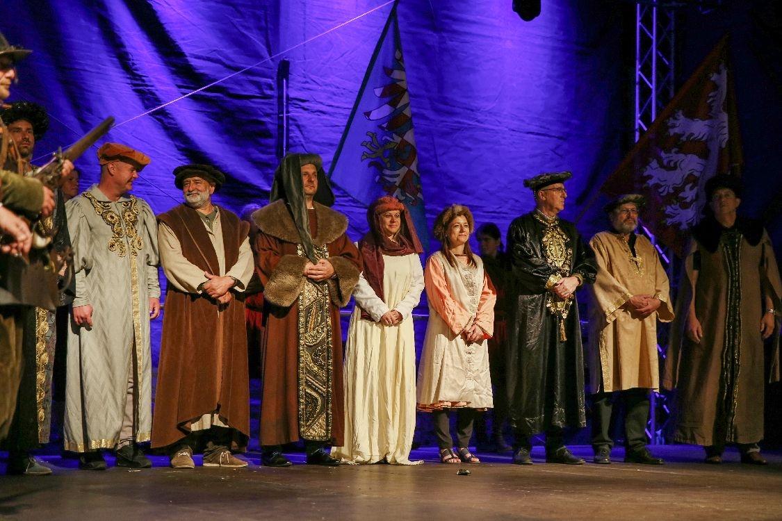 Slavnosti města Šumperka - dobová tematika - ceremonie foto: šumpersko.net - M. Jeřábek