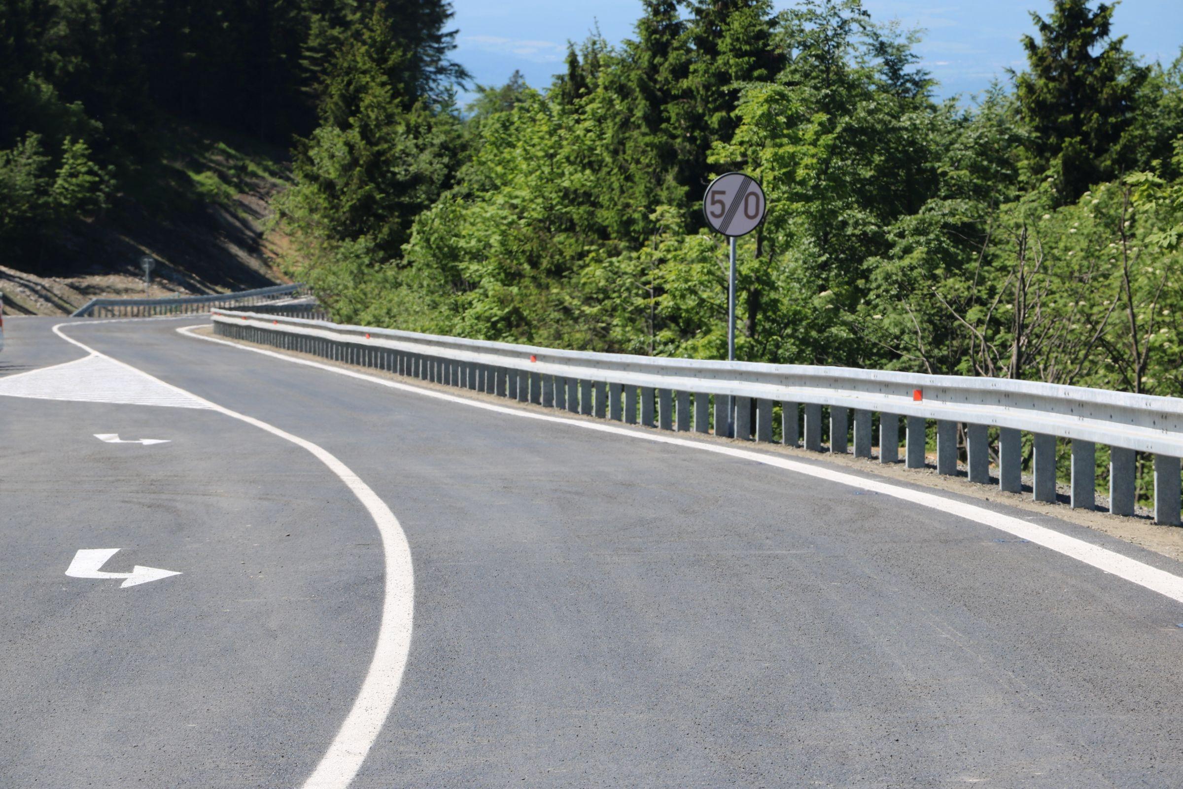 Bezpečnější silnice na Červenohorské sedlo se otevřela v pátek 9. června zdroj foto:MD