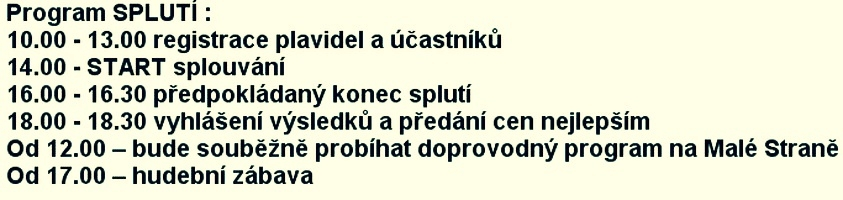 program zdroj: SDH Sudkov