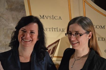 Klášterní hudební slavnosti 2017 - Monika Knoblochová a Edita Keglerová zdroj foto: KHS