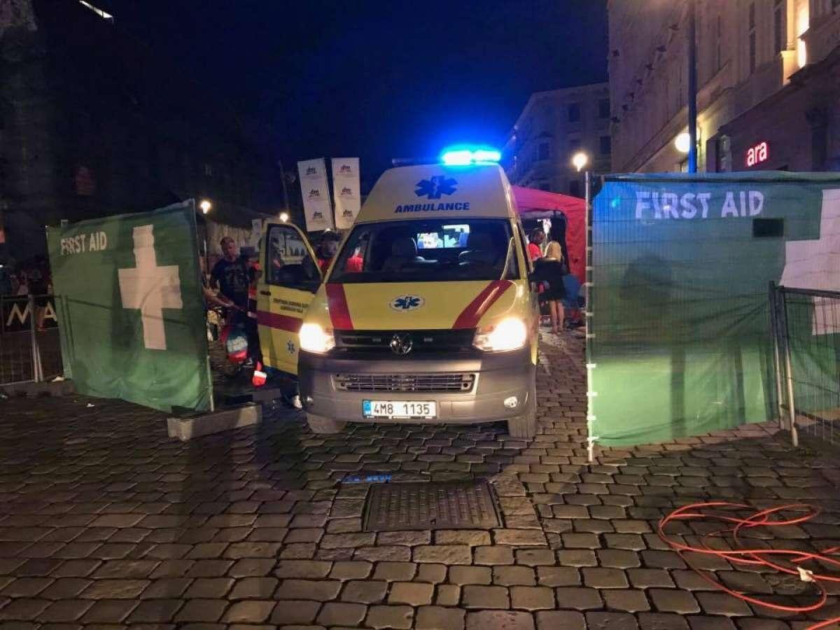 Zdravotníci hodnotí půlmaraton v Olomouci zdroj foto: ZZS Olk