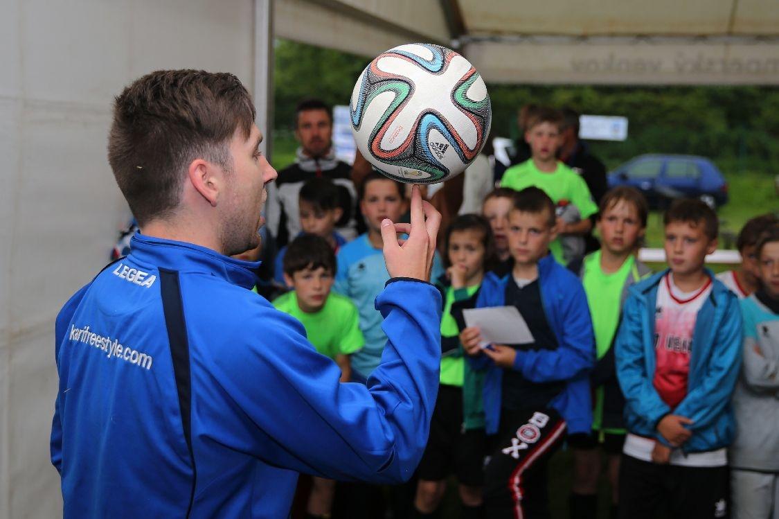 Nový Malín - fotbalový turnaj starší přípravky foto: šumpersko.net - M. Jeřábek