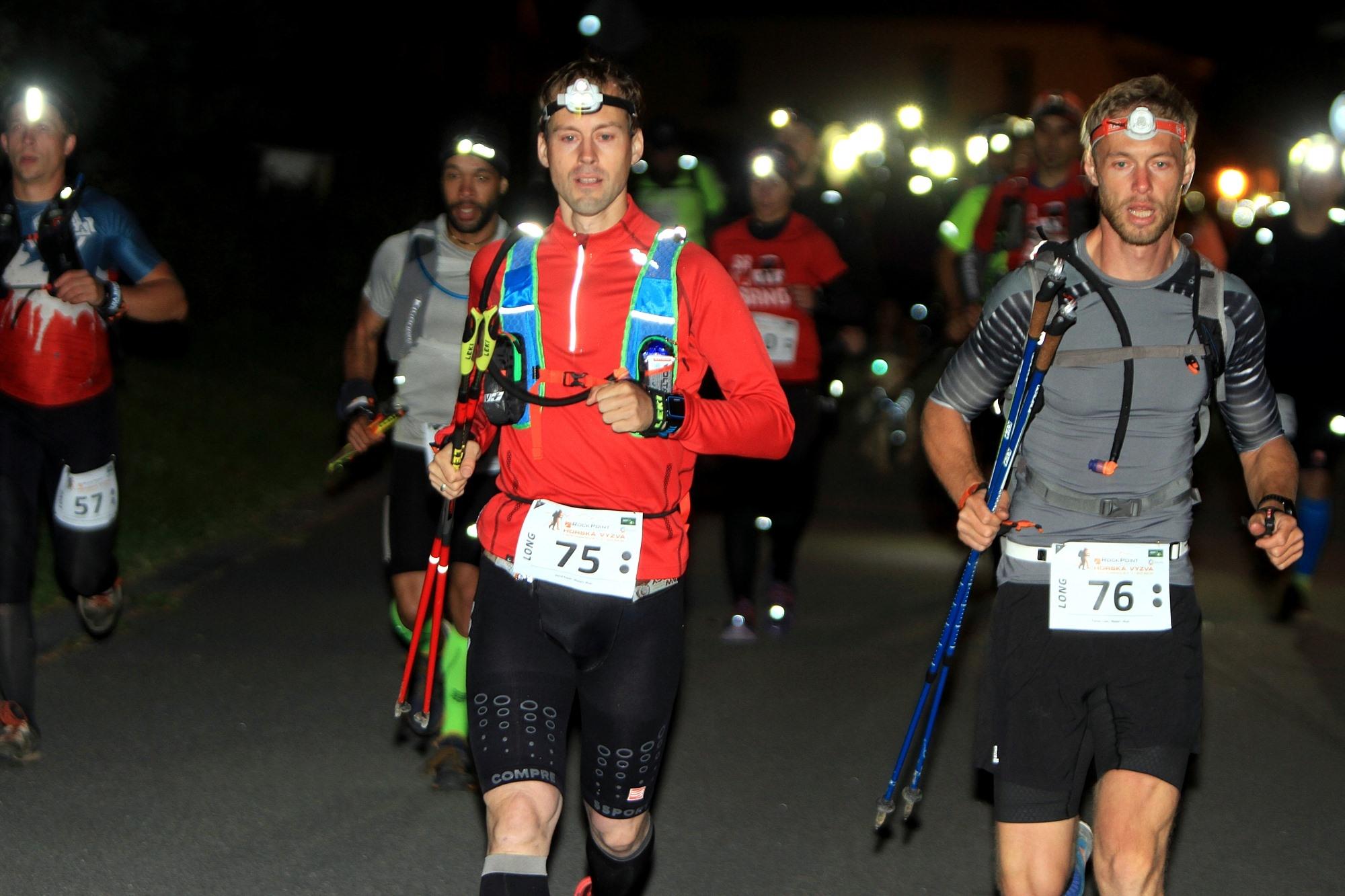 Vítězové mužské kategorie na Longu David Kopal a Tomáš Lisec (zleva). foto: PatRESS.cz