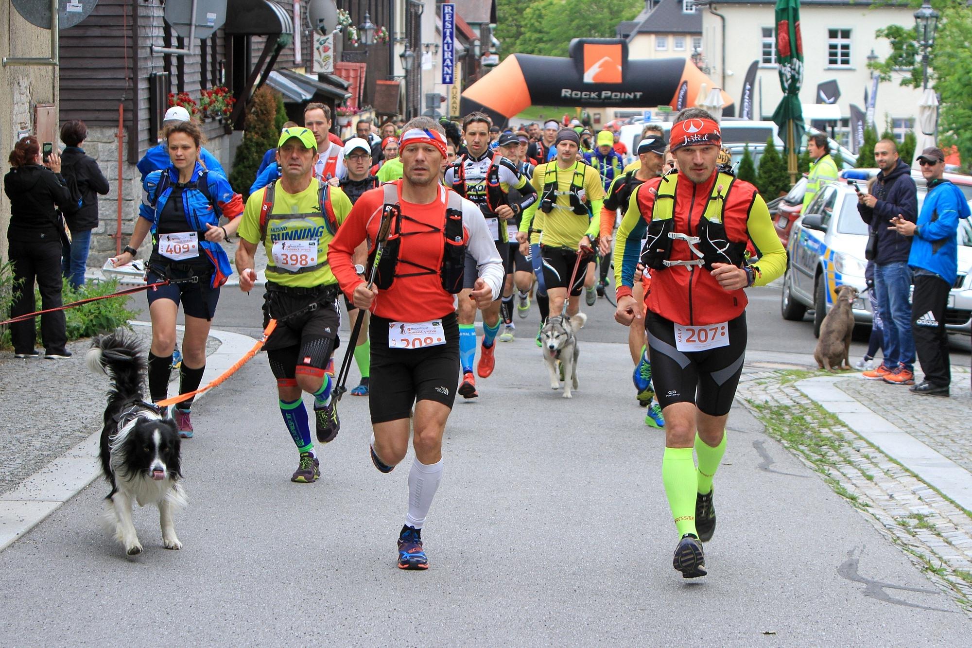 Start závodu Half na Božím Daru. foto: PatRESS.cz