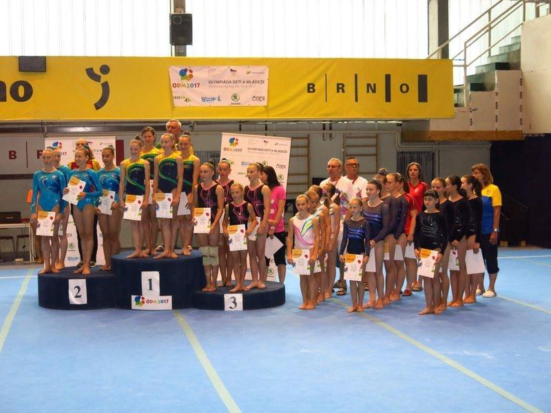 Brno - letní olympiáda dětí a mládeže zdroj foto: oddíl
