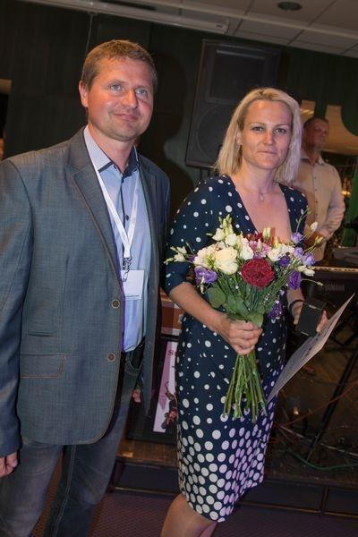 Hradec Králové - Ing. Hýblová, vedoucí oddělení životního prostředí MěÚ a Bc. Doubravský, jednatel společnosti EKO servis Zábřeh zdroj foto:muz