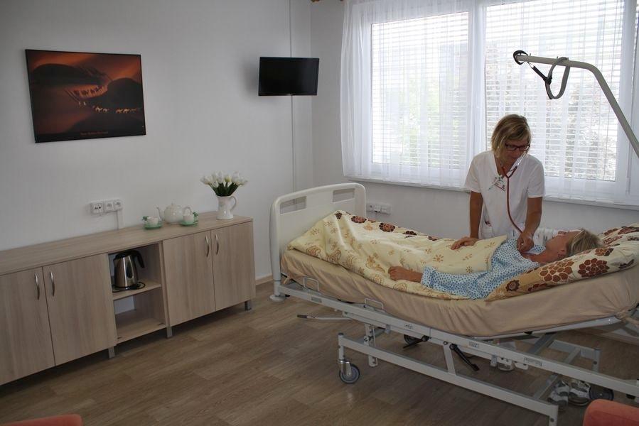 Nový nadstandardní pokoj nabízí pacientkám klid a soukromí foto:NŠ - T. Bulková