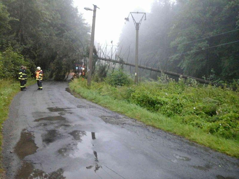 Olomoucký kraj (Mohelnice) - likvidace následků silných bouřek zdroj foto: HZS Olk
