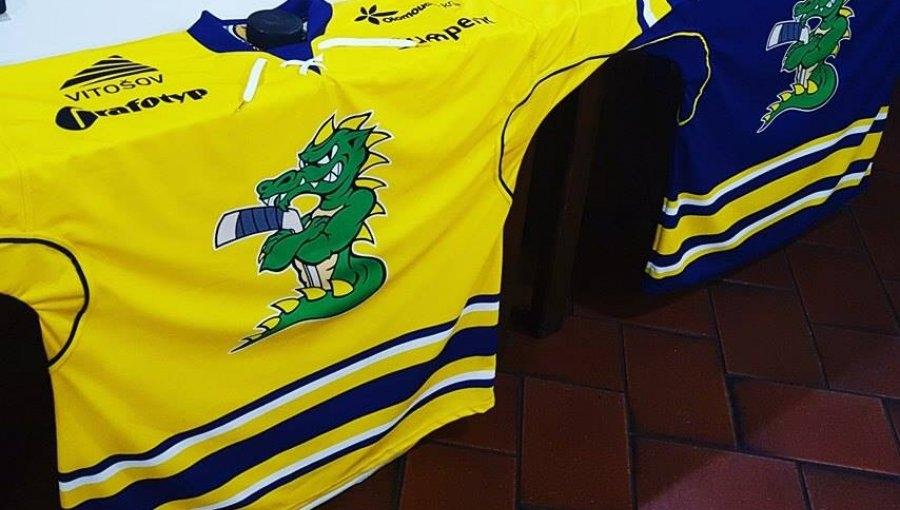 dračí dresy zdroj foto: Draci Šumperk