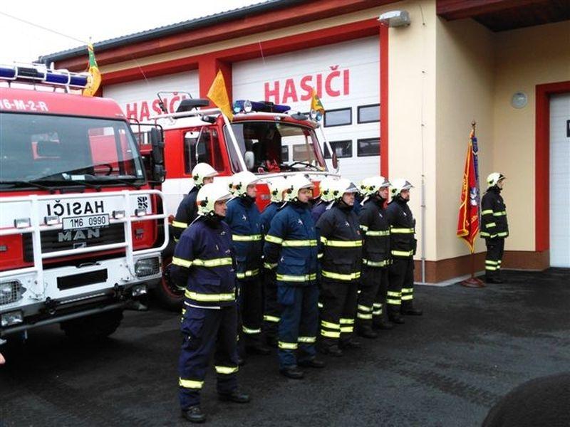 Jednotka SDH Temenice zdroj foto:Hasiči Šumperk