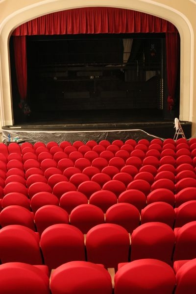Divadlo Šumperk - divadelní sál zdroj foto: DŠ