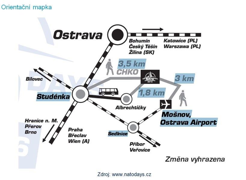 orientační mapka