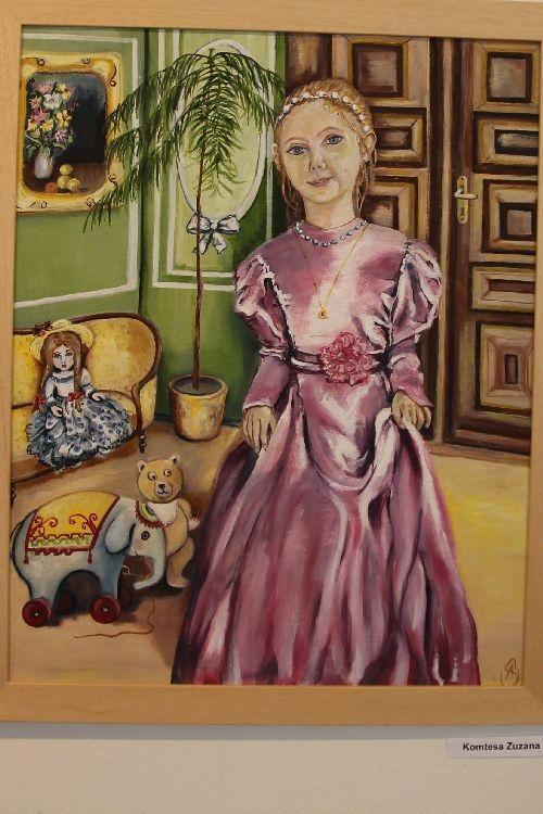 pozvánka na výstavu Anny Szatmariové foto: šumpersko.net