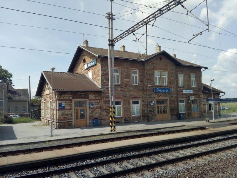 opravé nádraží Štěpánov zdroj foto: SŽDC