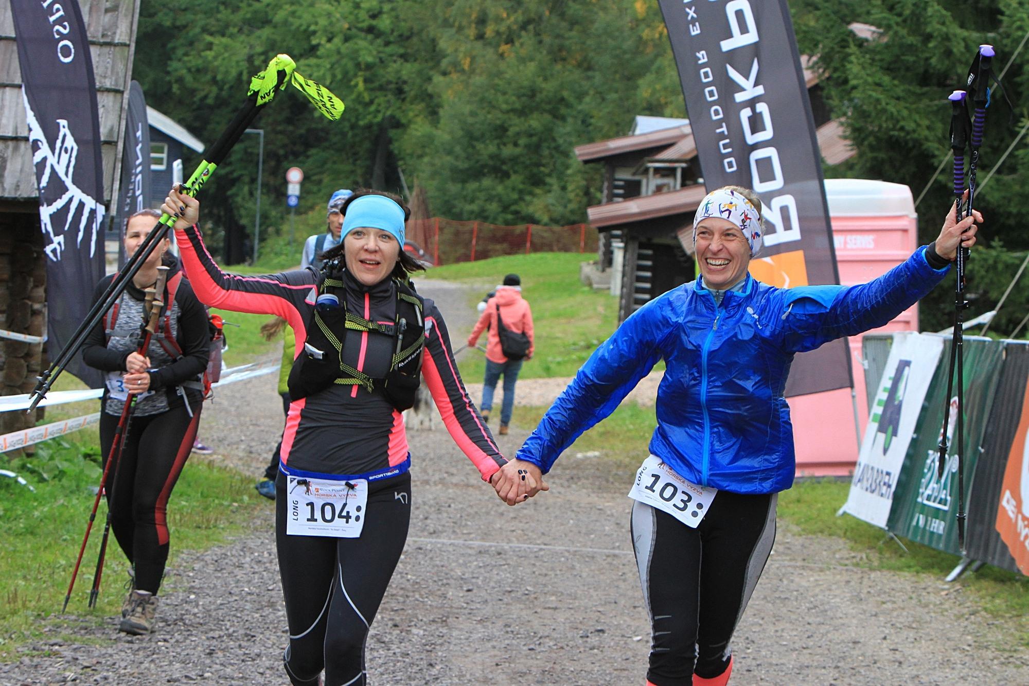nejrychlejší ženy Markéta Vondráčková a Kateřina Trdlová (zleva) foto:P. Pátek PatRESS.cz
