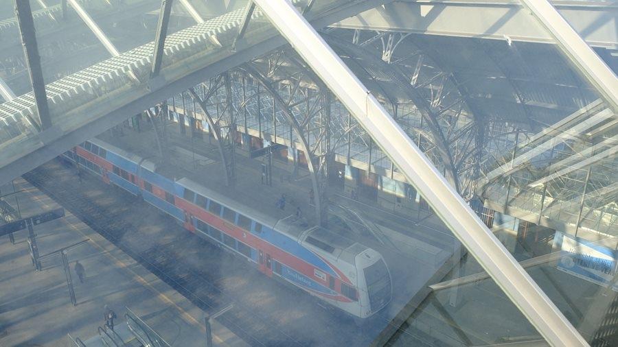 Po sto letech má pražské hlavní nádraží nově opravené zastřešení nástupišť zdroj foto:MD