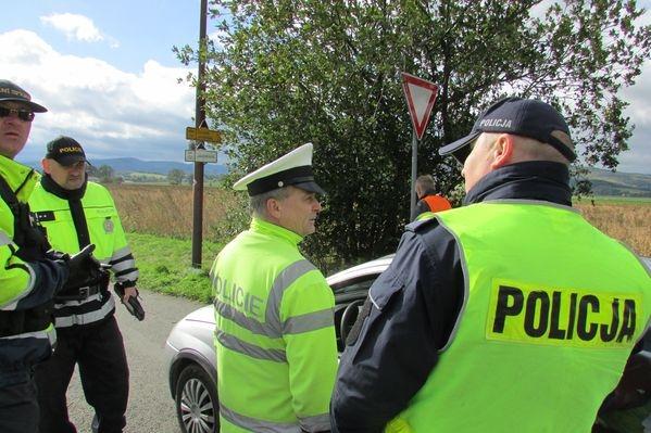 Jesenicko - akce Hranice II zdroj foto: PČR
