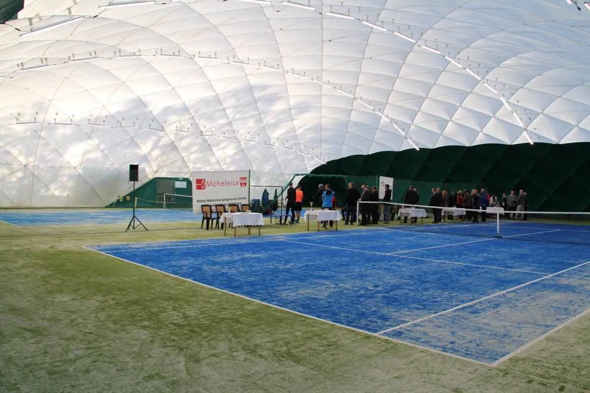 Olomoucký kraj (Mohelnice) - slavnostní otevření tenisových kurtů zdroj foto: Olk.