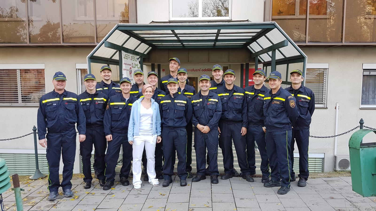 Olomouc - hasiči darovali hromadně krev zdroj foto: HZS Olk