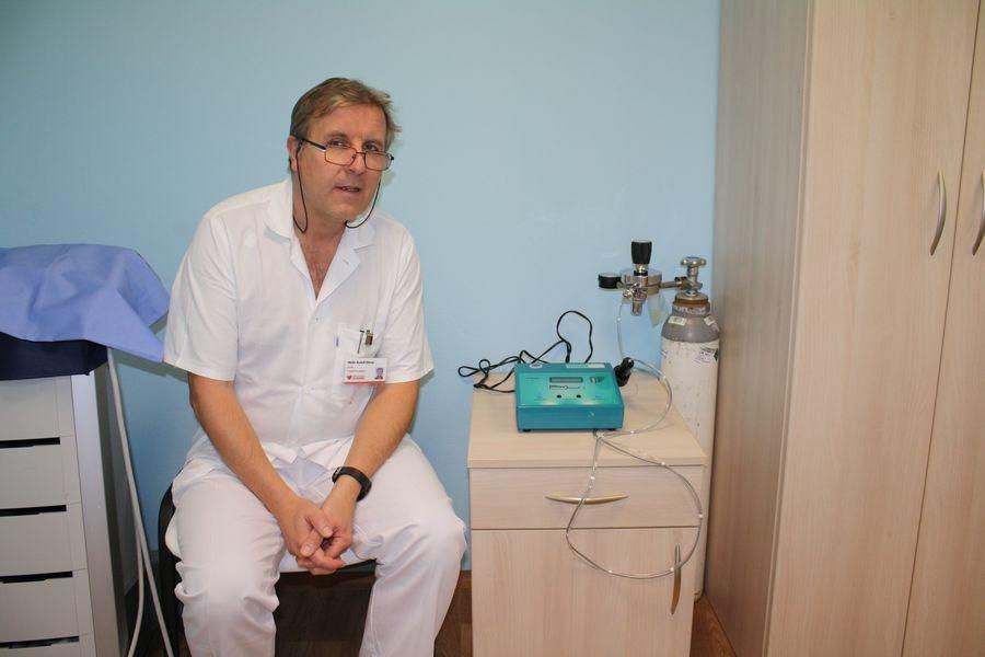 primář rehabilitačního oddělení Nemocnice Šumperk MUDr. Rudolf Ditmar zdroj foto: NŠ
