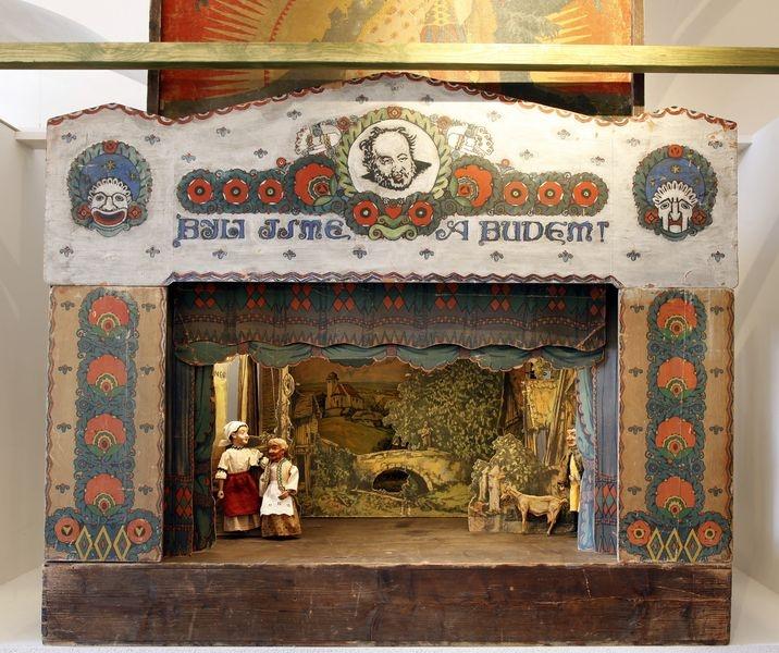 pozvánka na výstavu Kašpárek se vrací foto: Vlastivědné muzeum v Olomouci / Pavel Rozsíval