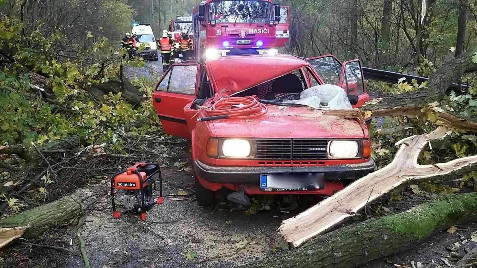 zásahy hasičů - neděle 29. října - DN Opatovice zdroj foto: HZS Olk