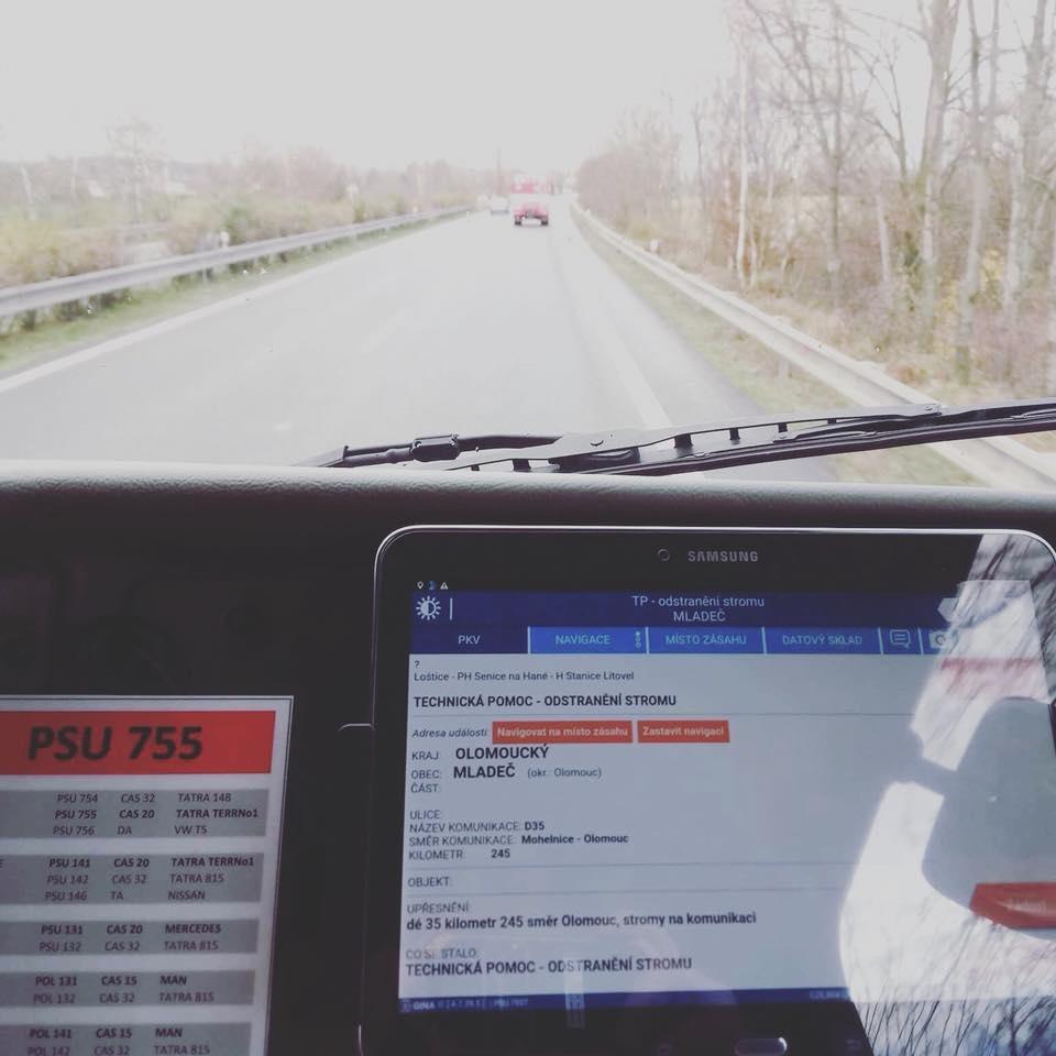 Orkán Herwart navýšil počet hasičských výjezdů o téměř 4600 procent zdroj foto: FB HZS OLK