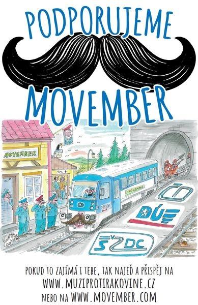 akce Movember zdroj: M. Bezuchová