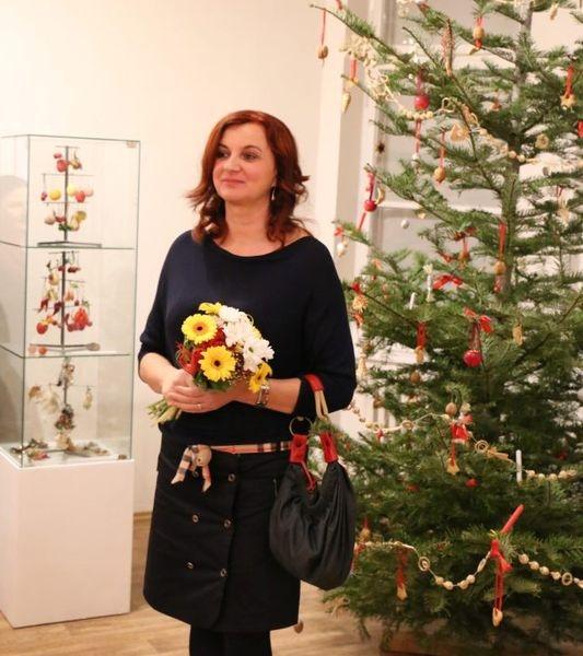 pozvánka na výstavu Vánoční ozdoby - sběratelka Jitka Mrkosová zdroj foto: VMŠ