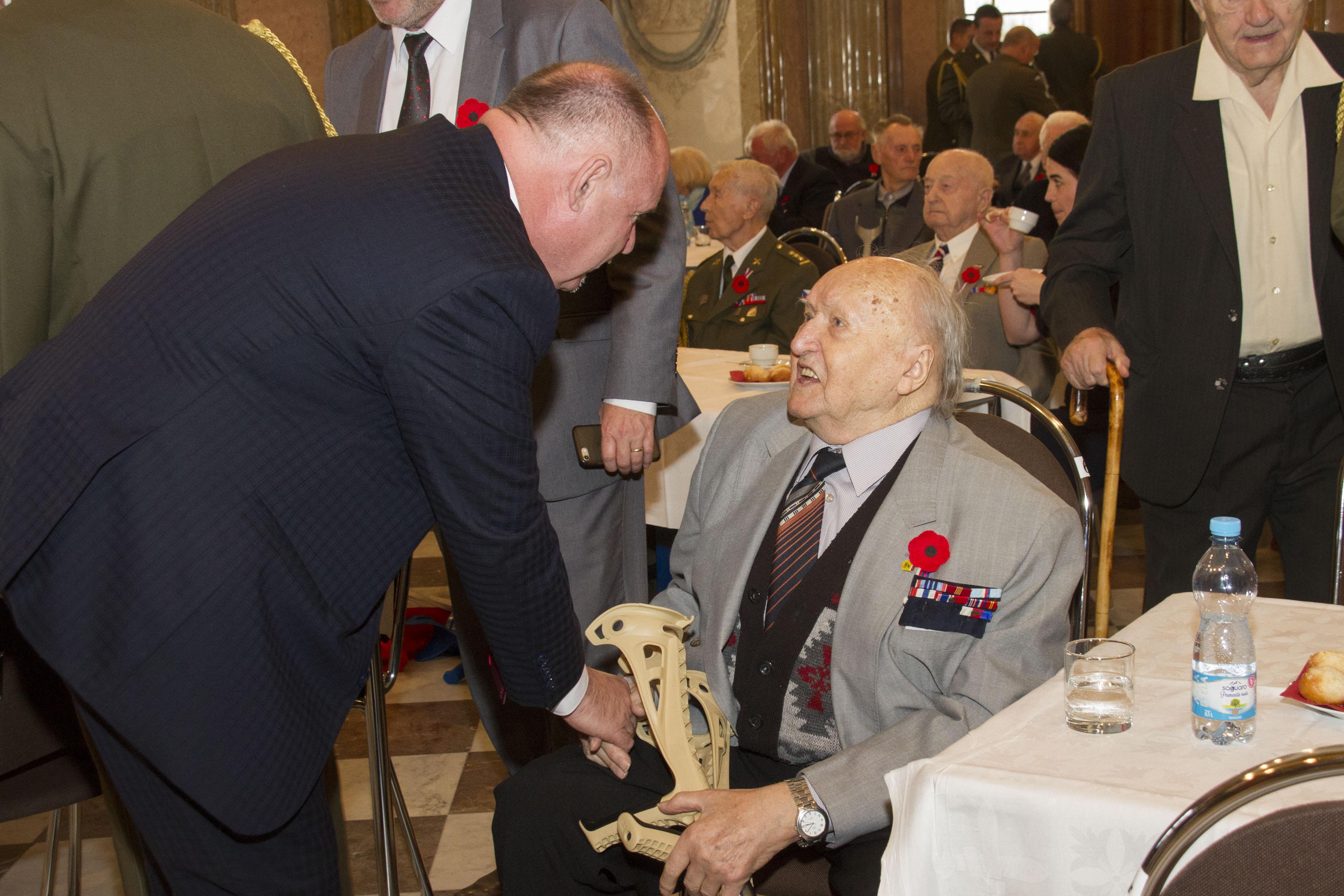 Den válečných veteránů v kraji zdroj foto: OLK