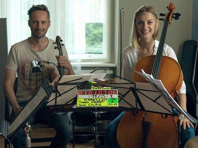 Kvarteto - B. Poláková a J. Plesl zdroj foto: z.k.