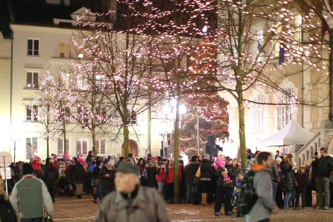 Šumperk - vánoční atmosféra 2016 zdroj foto: šumpersko.net