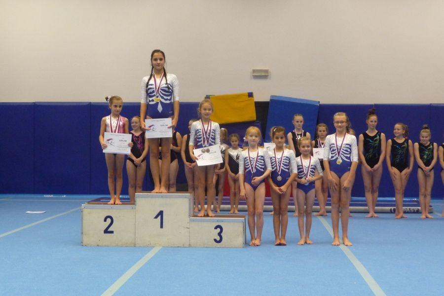 Šumperské sportovní gymnastky uspěly v Prostějově zdroj foto: oddíl