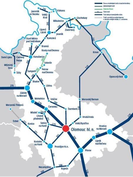mapa OK zdroj: ČD