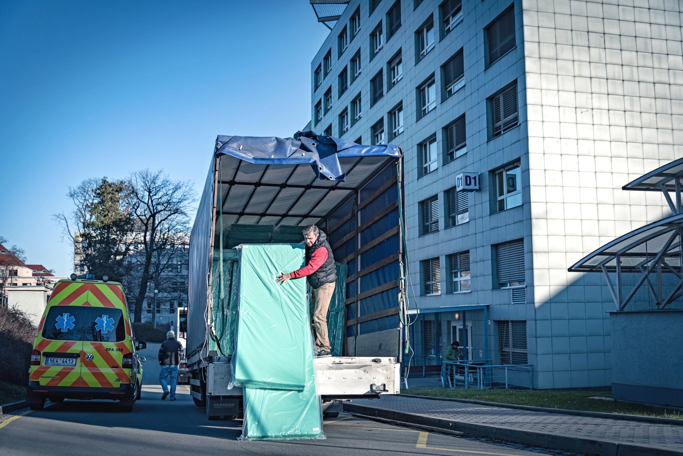 nové matrace zdroj foto: FN Olomouc