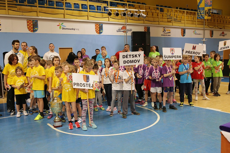 Krajský sportovní festival Olomouckého kraje zdroj foto: mus