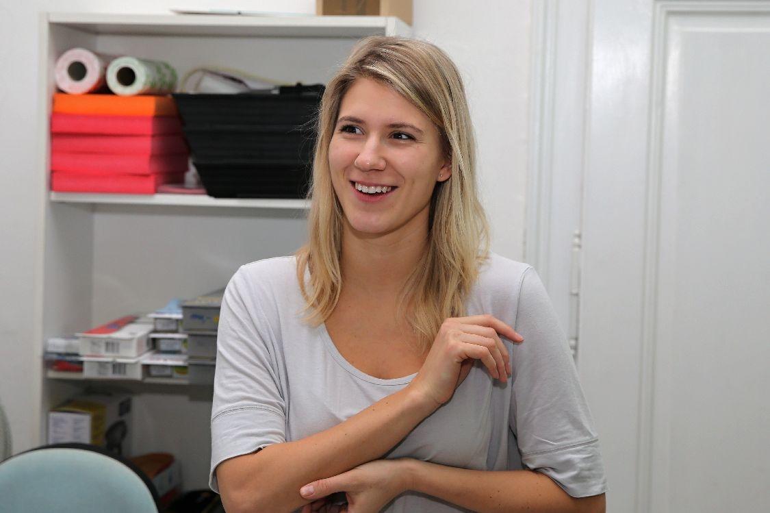 dcera Viktorie si zvolila, jako své povolání, obor fyzioterapeut foto: šumpersko.net - M. Jeřábek