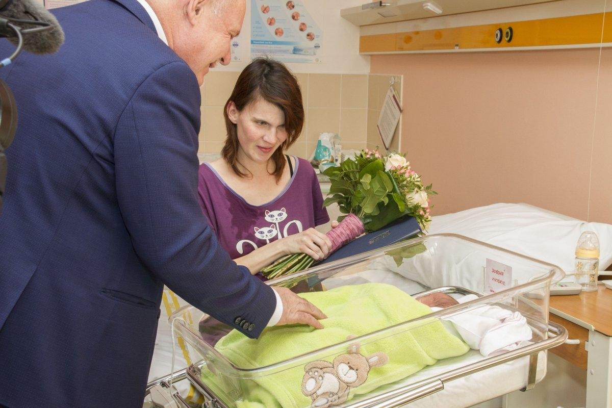 Prvním dítětem roku Olomouckého kraje je Viktorie z Nezamyslic zdroj foto: OLK