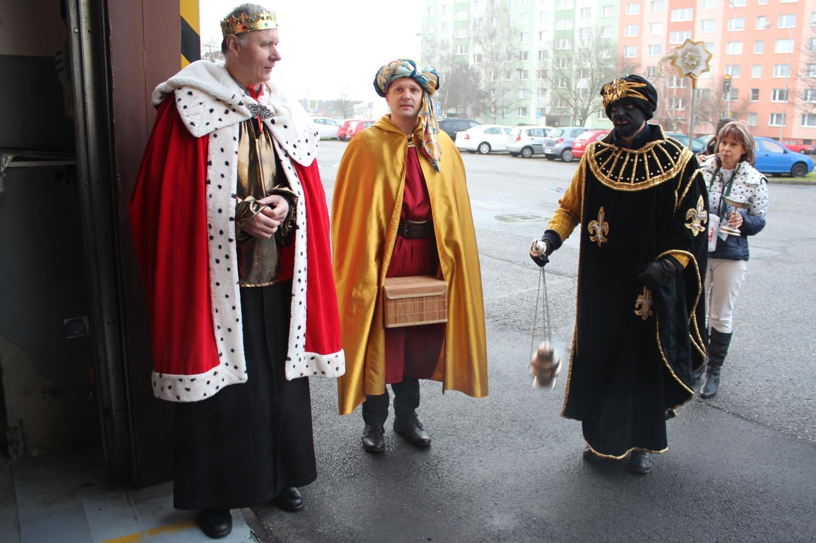 Tři králové 2018 zdroj foto: HZS Olk