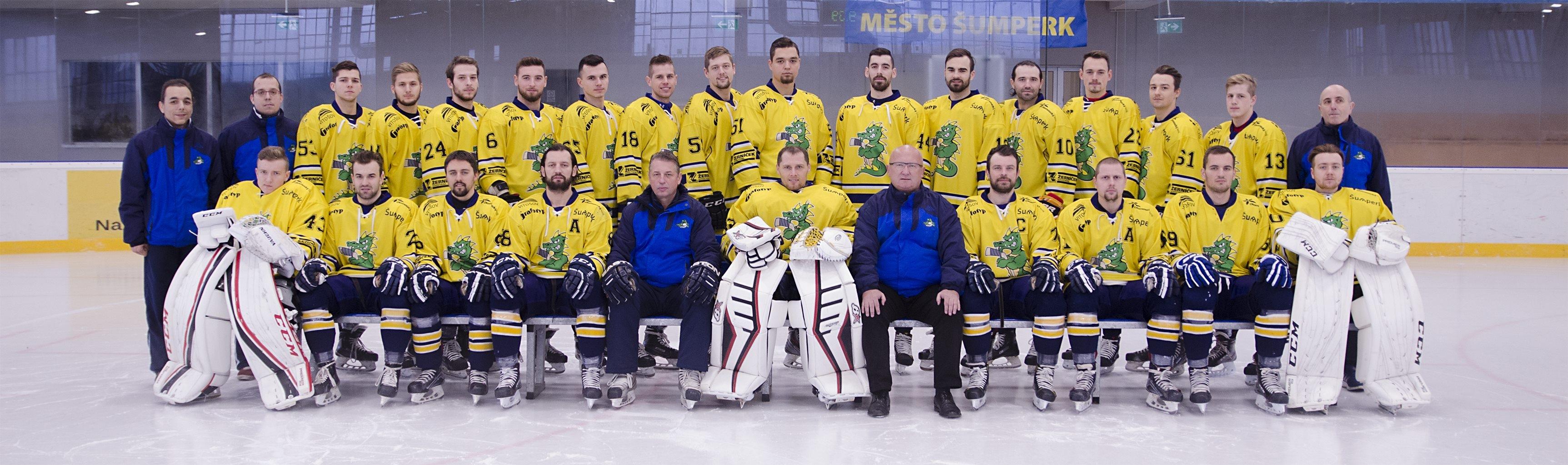 Draci Šumperk na začátku sezony zdroj foto: klub