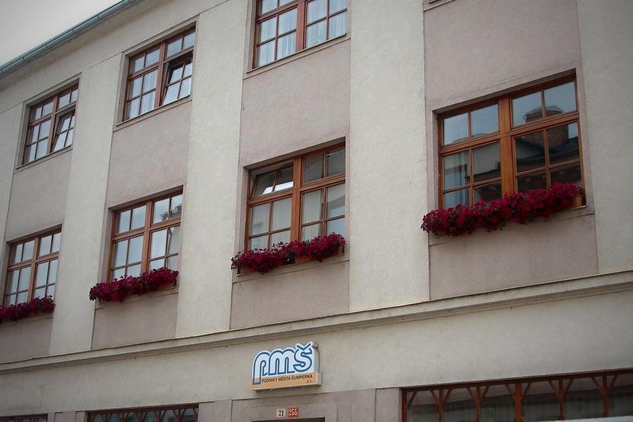 Šumperk - sídlo PMŠ na ul. Slovanská zdroj foto: archiv šumpersko.net