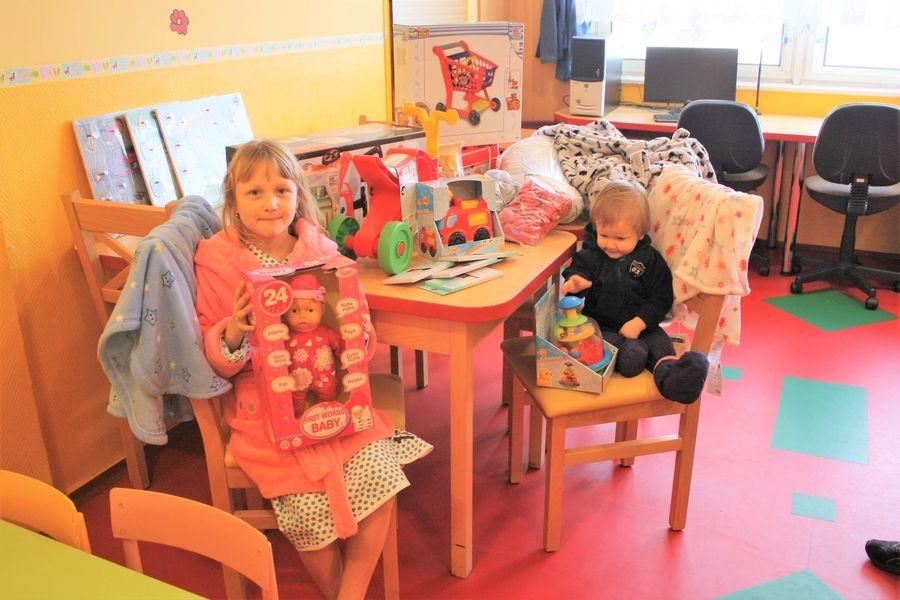 Hračky už dělají radost hospitalizovaným dětem foto: Hana Hanke, Nemocnice Šumperk