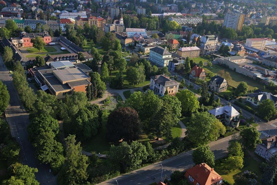 Šumperk - DK v centru města a zeleně foto: šumpersko.net - M. Jeřábek